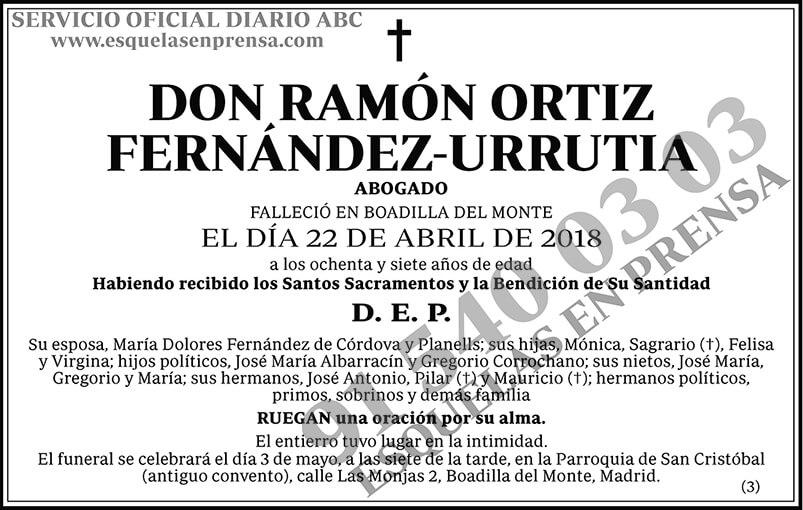 Ramón Ortiz Fernández-Urrutia